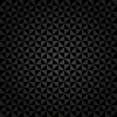 Geometric Seamless  Abstract Dark Pattern with Triangles — Стоковое фото