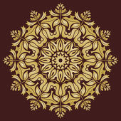 Orient  Pattern. Abstract Golden Ornament — Stock Photo