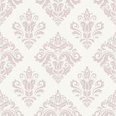 Damask Seamless  Pattern. Orient Pink Background — Stock Photo