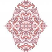 Damask Vector Orient Pattern — Stock Vector