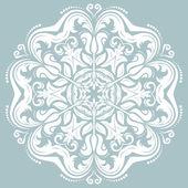 Тките ткань с узорами восточный образец — Стоковое фото