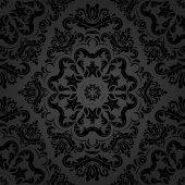 Damask Seamless  Pattern — Stock Photo