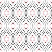Geometrische nahtloser Vektor-Muster — Stockvektor
