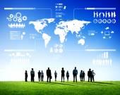 Determination of Business Teamwork — Stock Photo