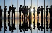 Uomini d'affari al meeting — Foto Stock