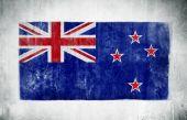 National Flag Of New Zealand — Stock Photo