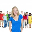 Multi Ethnic Diverse People — Stock Photo #52450843