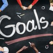 People and Goals Concept — Stock Photo #52450933