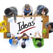 People and Ideas Concept — Stock Photo #52453131