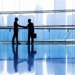 Business people making agreement — Stock Photo