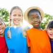 Children smiling — Stock Photo #52454627