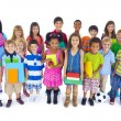 Large Group of Children — Stock Photo #52454645