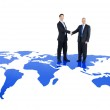 Global Business Cooperation — Stock Photo #52454817