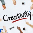 People and Creativity Concepts — Stock Photo #52455497