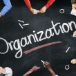 Постер, плакат: People Discussing About Organization