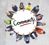 Diverse People in Circle — Stockfoto
