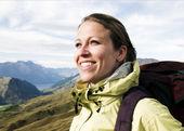 Portrait of Hiker — Stock Photo
