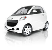 Car on white background — Stock Photo