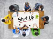 People and Startup Business Concept — Stock Photo