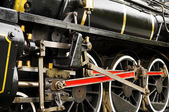 Steam train wheel — Stock Photo
