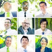 Portrait of Multiethnic Business People — Stock Photo