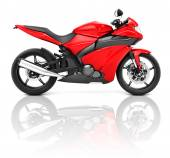 Sport Motorcycle — Stock Photo