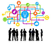 Business People and Idea Concepts — Stock Photo