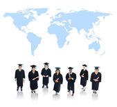 Graduating Students — Stock Photo