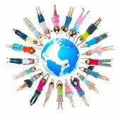 Group of Children Around the World — Stock Photo