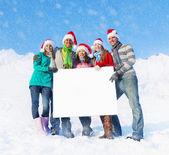 Tijd doorbrengen in de sneeuw — Stockfoto