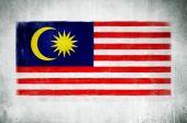 National Flag Of Malaysia — Stock Photo