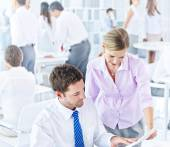 Business People Meeting in Office — Foto Stock