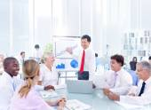 Business People Meeting in Office — Stock Photo