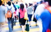 Menschen in hongkong — Stockfoto