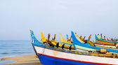 Colourful Fishing Boats — Stock Photo