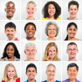 Multi Ethnic people — Stockfoto
