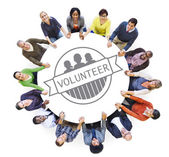People and Volunteer Concept — Stock Photo