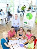 Students in the Classroom — Stock Photo