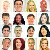 Multi-ethnics group of people — Stock Photo