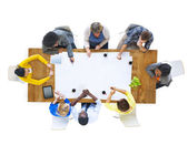 Group of People Meeting — Stock Photo