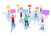 Global Communications — Stock Photo