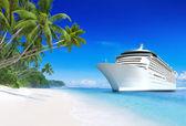 Cruise liner — Stock Photo