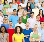 Multi Ethnic Group Of People — Stock Photo