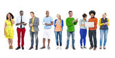 People Social Networking — Stock Photo