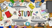 People and Study Concept — Stock Photo