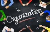 People Discussing About Organization — Foto Stock