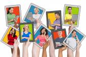 People Social Networking and Related Concepts — Stock Photo