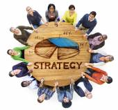 Business People Planning Strategy — Stock Photo