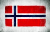 National Flag Of Norway — Stock Photo