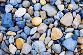 Colored Pebbles rocks — Stock Photo